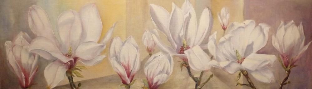 """""""Magnolia vid väggen"""""""